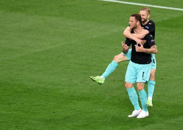 Former West Ham star Marko Arnautovic refuses to rejoice objective as Austria win first ever European Championship match towards North Macedonia