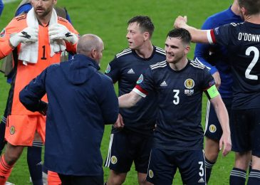 Scotland 'ought to have received' in opposition to England, says Andy Robertson, who praises recreation plan of Steve Clarke and suggests Tartan Military out-sung Three Lions followers