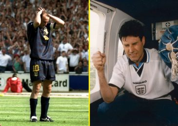 How Uri Geller 'helped' England beat Scotland at Euro '96 with psychic powers from a helicopter