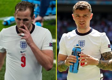 Harry Kane 'will rating targets' at Euro 2020 says England teammate Kieran Trippier, who reveals Manchester United and Chelsea stars have helped him in coaching
