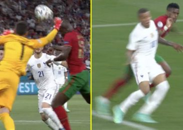Hugo Lloris 'ought to've been despatched off' for punch on Danilo to concede Cristiano Ronaldo penalty in Portugal vs France