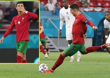 Cristiano Ronaldo equals Ali Daei's worldwide purpose file as two objectives in draw to France sees Portugal end third in Euro 2020 group