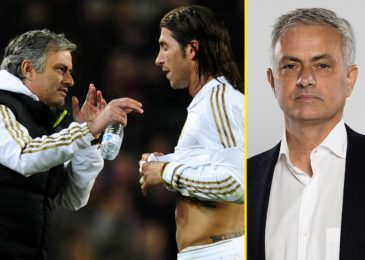 Jose Mourinho backs Sergio Ramos for Premier League transfer after 'shocking' Actual Madrid exit, says he could make identical influence as Thiago Silva did at Chelsea