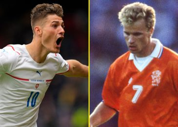 Spectacular targets have seen Patrik Schick in comparison with Arsenal legend Dennis Bergkamp and harm Scotland at Euro 2020