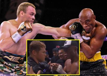 Anderson Silva outboxes Julio Cesar Chavez Jr to win by break up choice as UFC legend congratulated by Canelo Alvarez and will struggle Jake or Logan Paul subsequent
