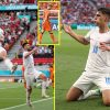 Patrick Schick strikes again in Euro 2020 Golden Boot battle with Cristiano Ronaldo and Czechs beat Netherlands as Matthijs de Ligt carries on surprising purple card file