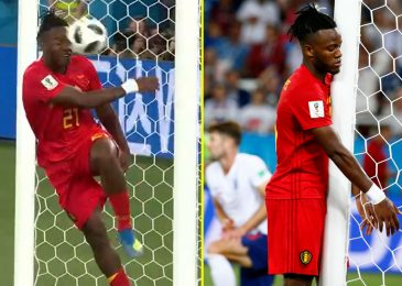 Chelsea star Michy Batshuayi 'knew he was f*****' after England purpose celebration resulted in humiliation as he smashed ball into his personal face