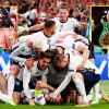 Anthony Joshua and Tyson Fury have a good time England reaching Euro 2020 remaining as Derek Chisora reacts at Wembley