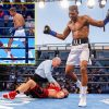 Boxer dressed as Muhammad Ali scores unimaginable one-punch KO which flooring opponent in light-weight struggle