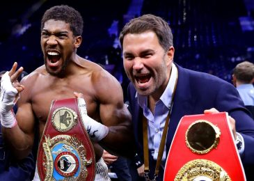 Eddie Hearn believes Anthony Joshua will proceed to combat for not less than 5 extra years as he praises heavyweight champion's 'unparalleled' dedication to boxing