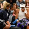 Teenager's fairytale Wimbledon ends as Brit retires injured in opposition to Ajla Tomljanovic in fourth-round match