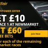 Get £60 in free bets with Betfair for the horse racing at Newmarket