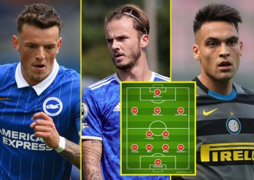 New Arsenal XI that might get them again into the highest 4, together with Aaron Ramsdale, Ben White, £70million playmaker and ahead Lionel Messi loves