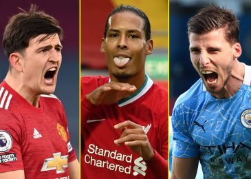 Raphael Varane at Manchester United will make Premier League centre-backs the very best in Europe with Harry Maguire, Ruben Dias, Thiago Silva and Virgil van Dijk additionally there