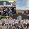 Marcus Rashford mural restored by artist as lots of of followers collect for peaceable anti-racism demonstration in assist of Manchester United star and different England teammates
