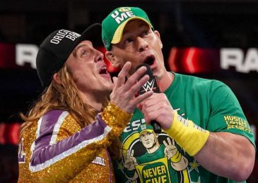 John Cena did NOT seem on WWE RAW, however here is what he did after the present
