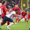 Simon Jordan insists England shouldn't have been awarded 'very tender' match-defining penalty in opposition to Denmark as Andros Townsend maintains Raheem Sterling didn't dive