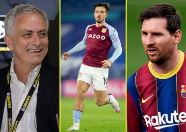 Jack Grealish was in comparison with Lionel Messi and Luis Figo, hardest working participant at Aston Villa and now turns into most costly British participant with £100m switch to Man City