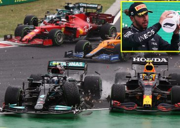 'What the f*** occurred there?' Max Verstappen loses Championship result in Lewis Hamilton as dramatic Hungarian Grand Prix began with a crash and was gained by Esteban Ocon